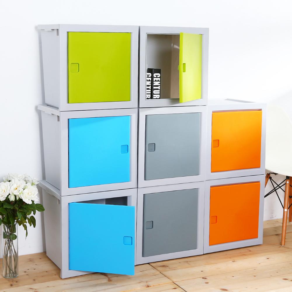 HOUSE 組裝式 轉轉箱3入組48L(4色可選)