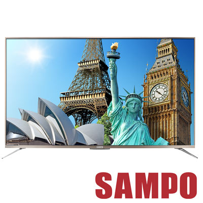 SAMPO聲寶-55吋4K聯網-Smart-LED