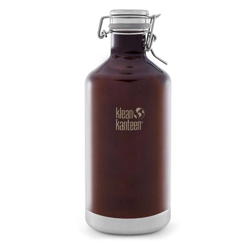 美國Klean Kanteen快扣鋼蓋保冰鋼瓶1900ml-深琥珀