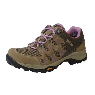 SIRIO PF116-PI Gore-Tex短筒登山健行鞋 棕/粉