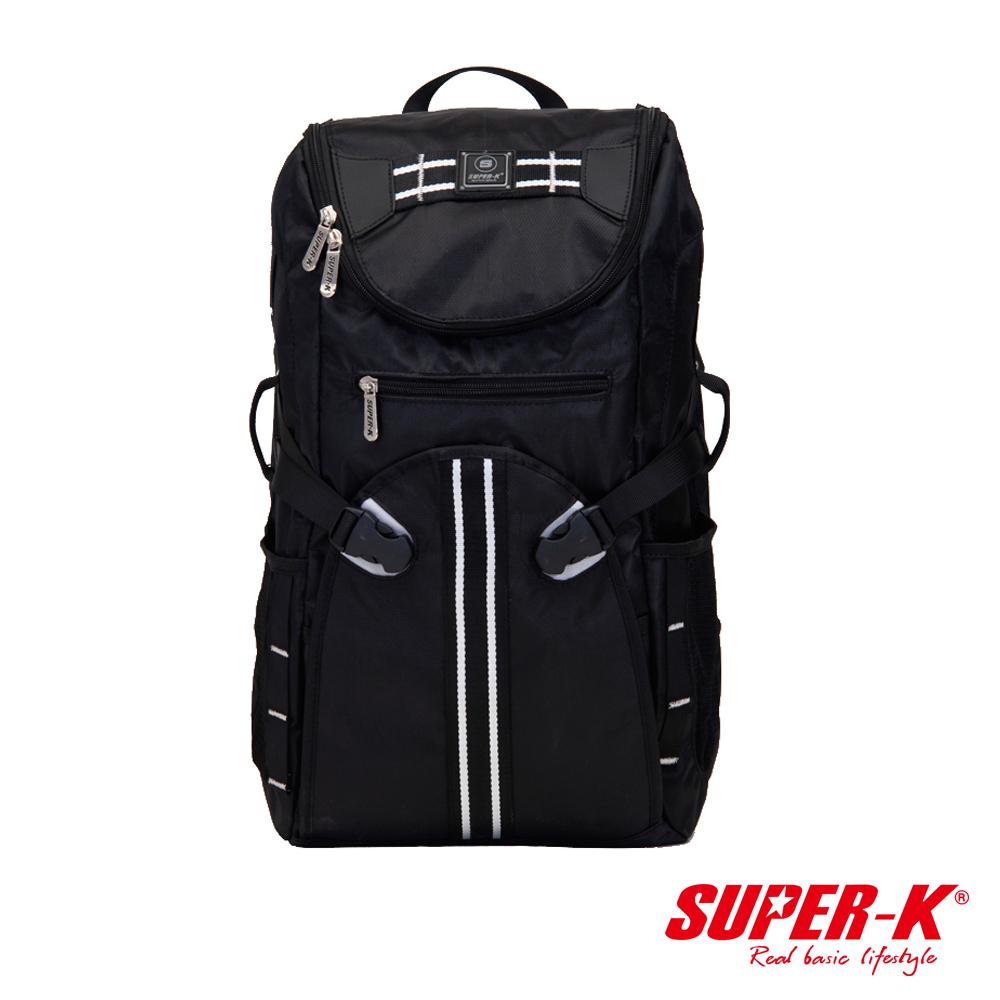 美國品牌【SUPER-K】背部透氣多功能休閒背包☆超值有型(SHB21521)