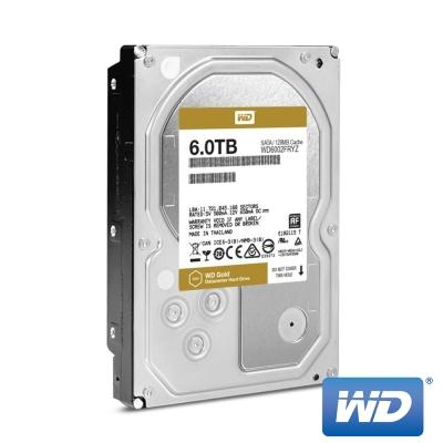 WD威騰 WD6002FRYZ Gold 6TB 3.5吋企業級硬碟