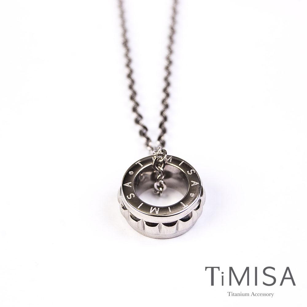 TiMISA《幸福御守(S)》純鈦項鍊E