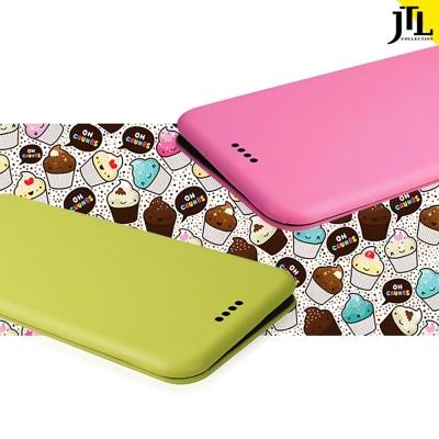 JTL iphone 6 /6s  繽紛馬卡龍小清新側掀式皮套