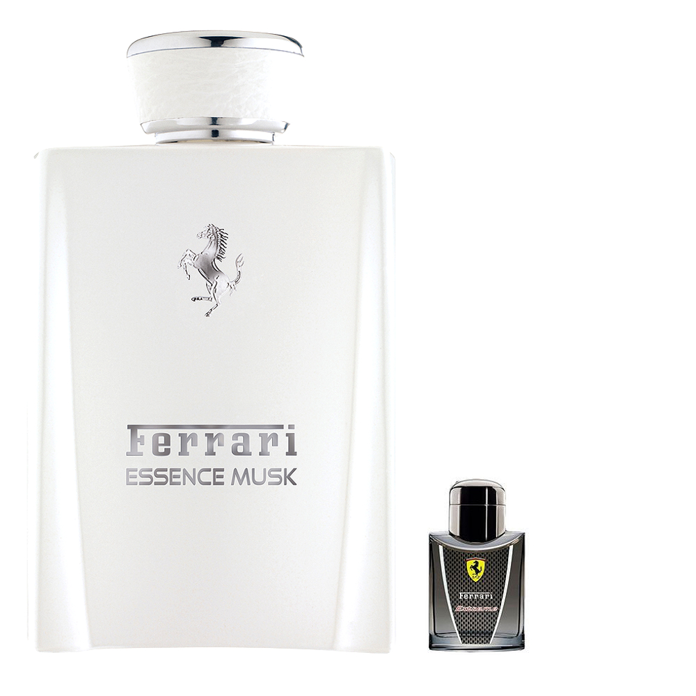 Ferrari Essence Musk 白麝香男性淡香精 100ml 搭贈法拉利 4ml