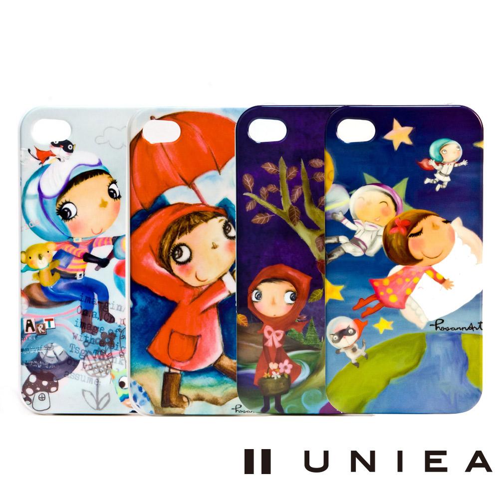 UNIEA HosannArt 童趣系列 iPhone 4/4S 抗刮保護殼