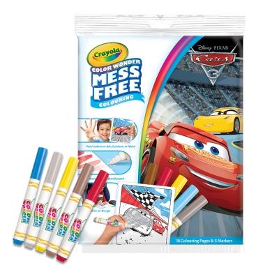 美國crayola繪兒樂 神奇顯色系列著色套裝-汽車總動員3(3Y+)