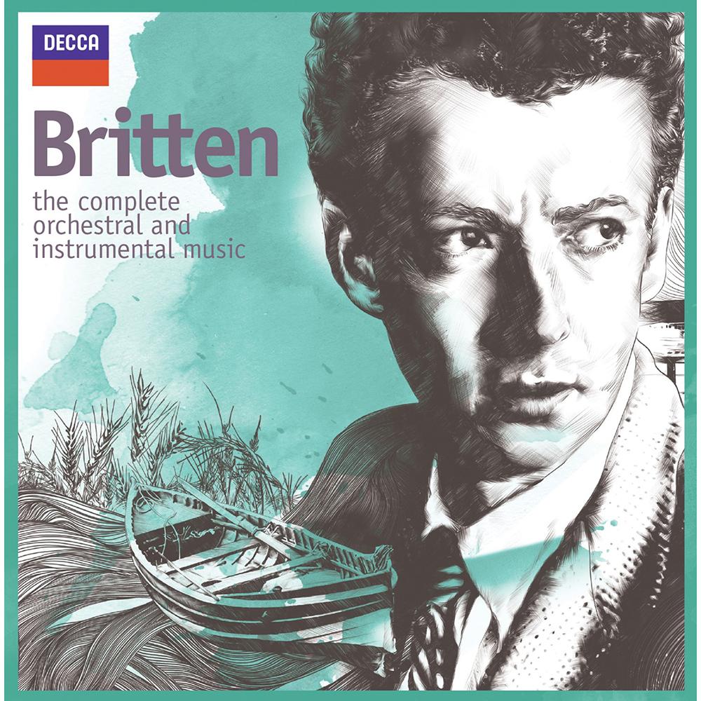 布烈頓/管弦樂&器樂作品全集(13CD)