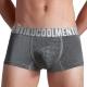 男內褲 工業風 竹纖維涼感絲滑四角褲 -質感灰 TIKU 梯酷 product thumbnail 1