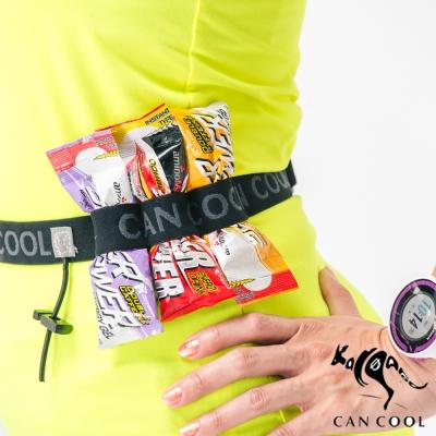 CAN COOL敢酷 2.5cm寬 號碼帶(3補給環)(黑灰)C150311008