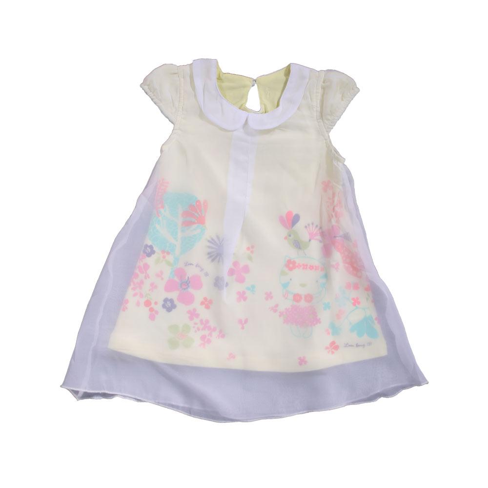 魔法Baby 專櫃款女寶寶蕾絲洋裝 k41248