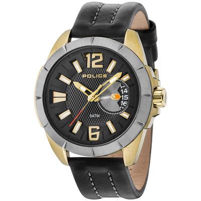 POLICE  末日宣言時尚腕錶-15240JSKU-02-47mm