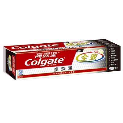 高露潔全效牙膏 炭深潔 150g