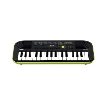 CASIO卡西歐 32鍵小迷你電子琴幼兒適用SA-46(綠色)
