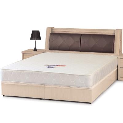 床台 雙人加大6尺 瑪心 床頭箱+床底 三色可選 品家居
