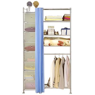 巴塞隆納─W5+D型60公分衣櫥置物架