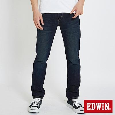 EDWIN 503重磅五袋窄管牛仔褲 -男-中古藍