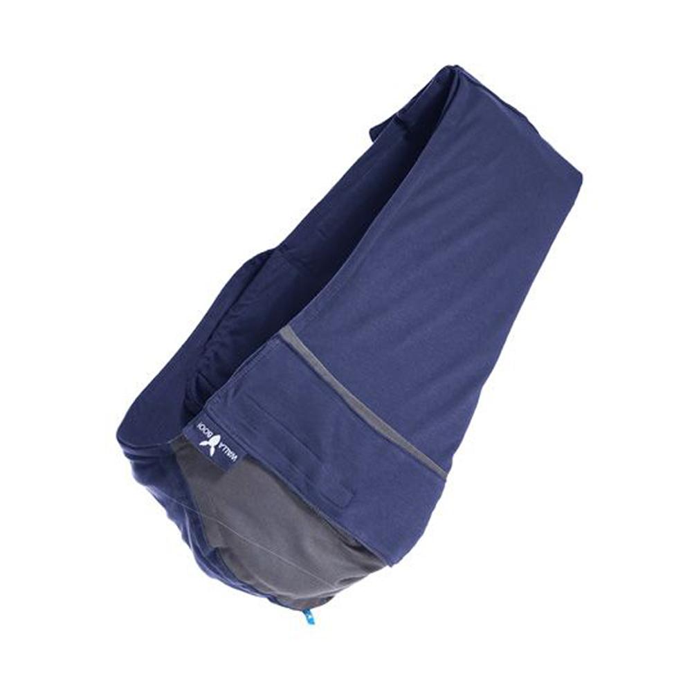 荷蘭Wallaboo袋鼠背巾雙色系/星空藍灰