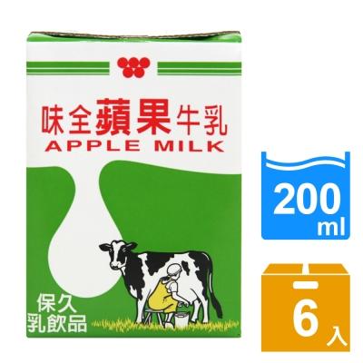 味全 蘋果牛乳(200mlx6入)