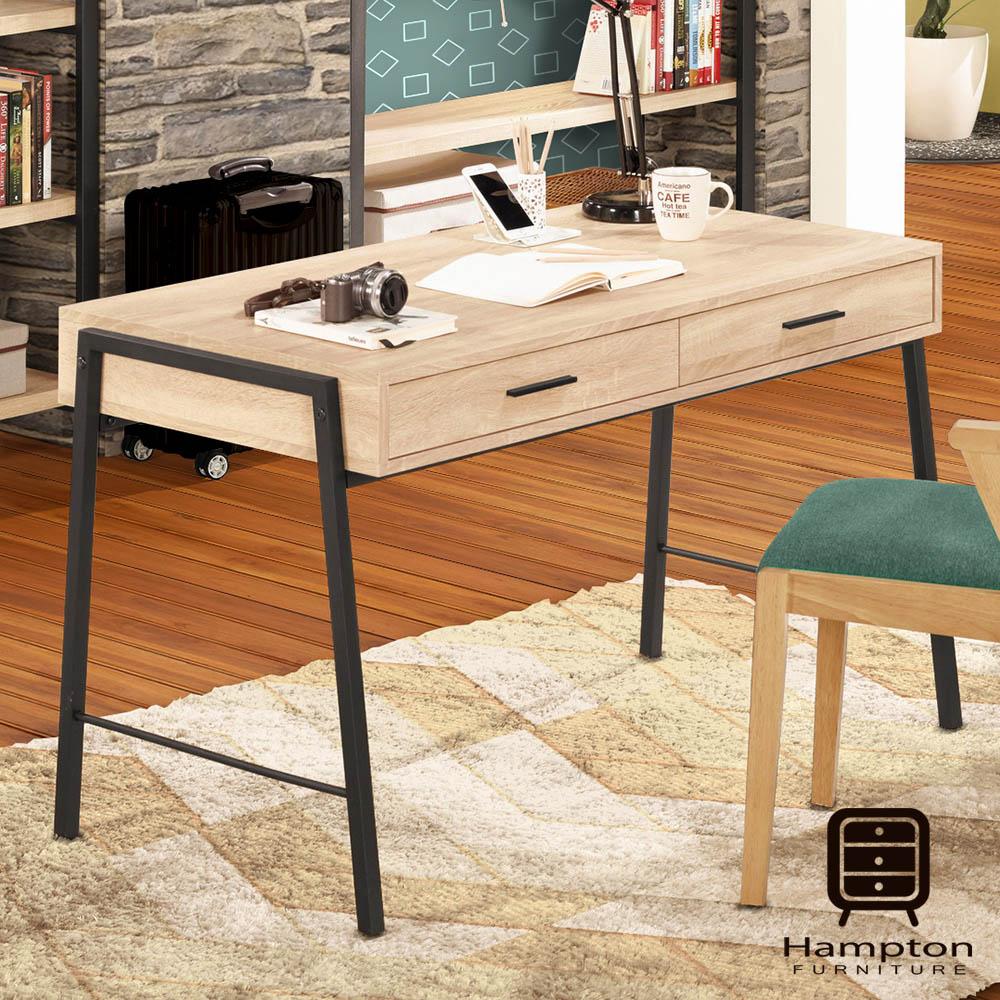 漢妮Hampton馬歇爾4尺書桌-120x60x74.4cm