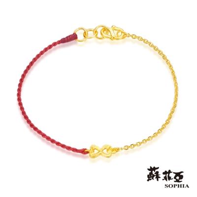 蘇菲亞SOPHIA - G LOVER系列紳士領結黃金手環
