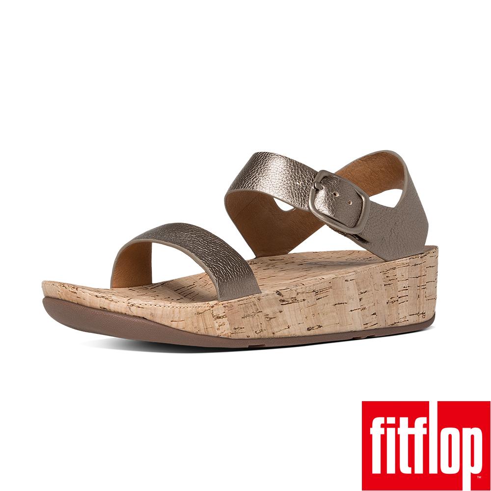FitFlop BON LEATHER BACK-STRAP-銅色