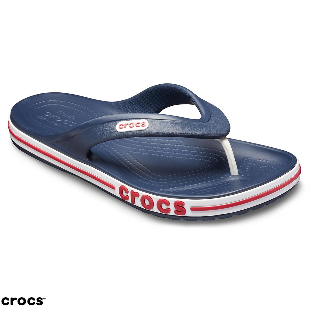 Crocs 卡駱馳 (中性鞋) 貝雅卡駱班夾腳拖 205393-4CC