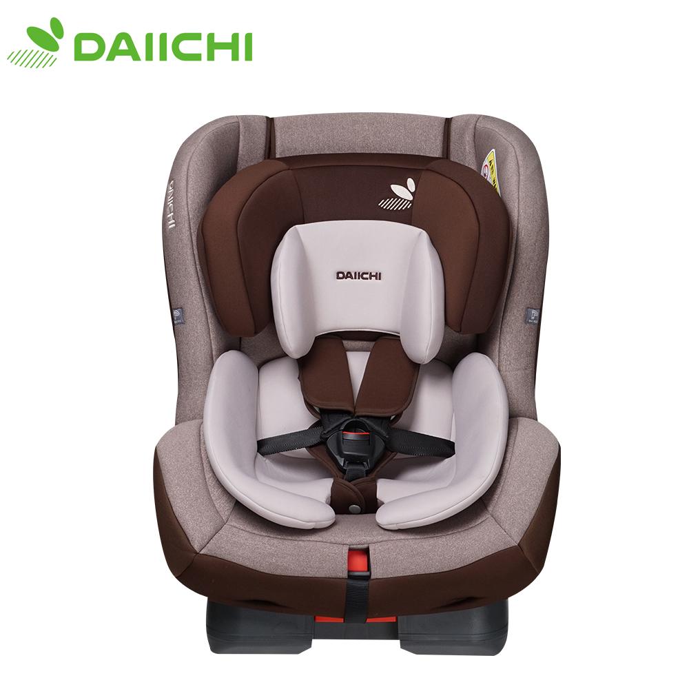 韓國DAIICHI 大七 FIRST 7 Carseat奢華版0-7歲安全座椅(咖啡米)