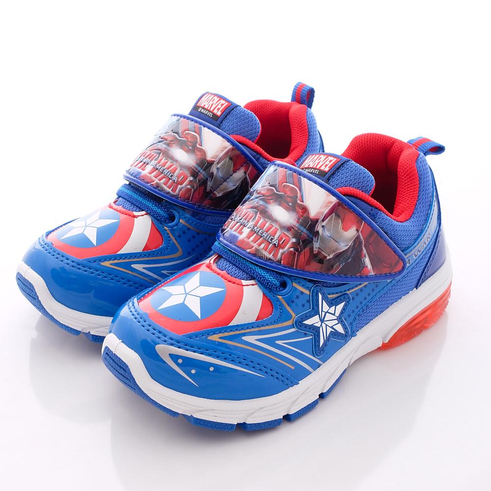 迪士尼童鞋-美國隊長電燈運動款-XSI5106藍(中小童段)HN
