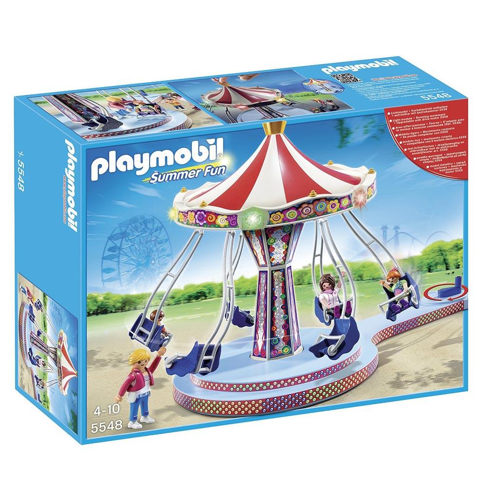playmobil 歡樂遊樂園系列 飛天鞦韆