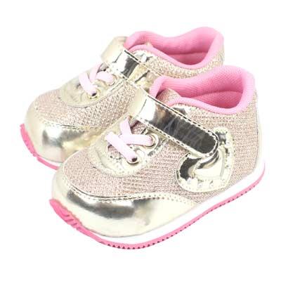 Swan天鵝童鞋-金屬光澤愛心輕量機能鞋1522-金