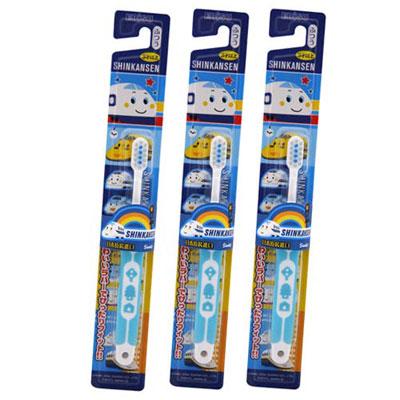 EBISU-新幹線軟柄兒童牙刷×3入