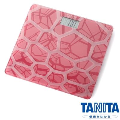 日本TANITA時尚超薄電子體重計HD-380-粉紅