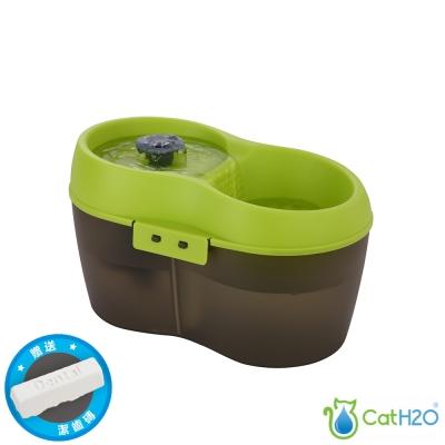 DOG&CAT H2O 有氧濾水機 電動飲水器 小 2L