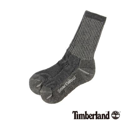 Timberland 灰色吸汗環保羊毛半筒襪
