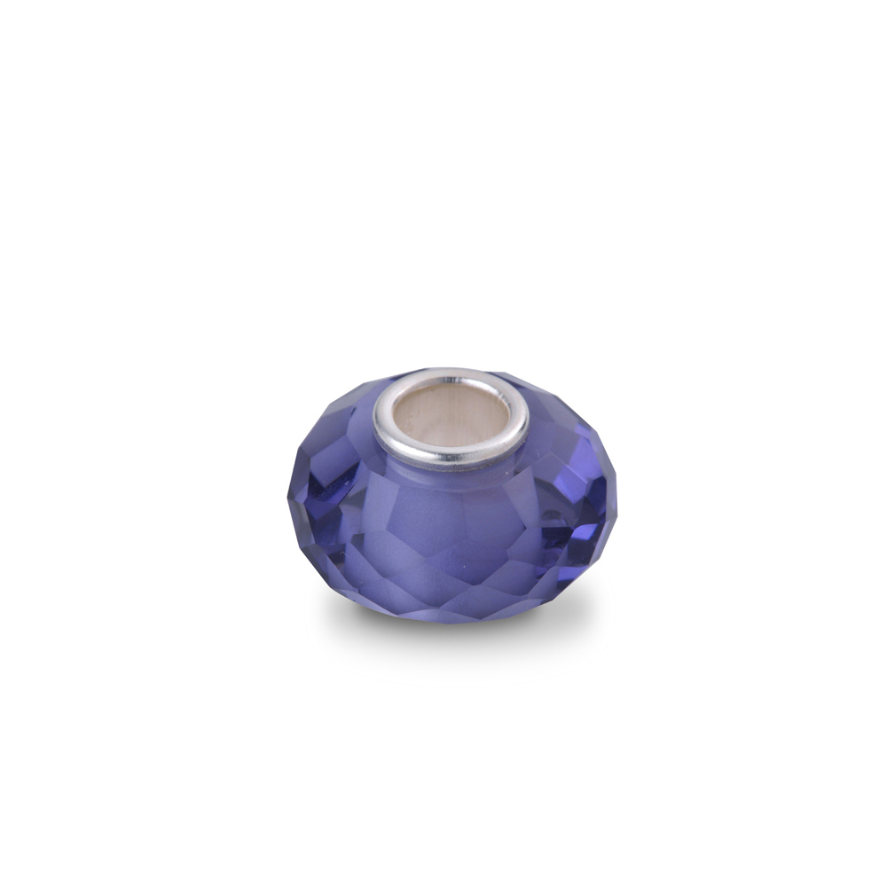 YUME Beads-經典水晶系列-黑/白/黃/粉/藍/紫色切面水晶