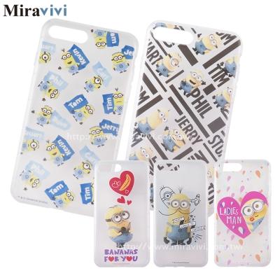 Minions 小小兵iPhone 8/7 Plus(5.5吋)可愛防摔氣墊空壓...