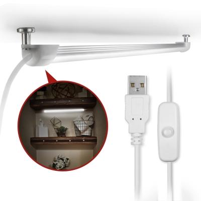 USB LED燈 線控開關式磁吸式超薄型