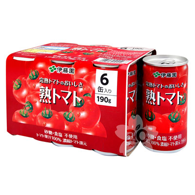 伊藤園  濃醇蕃茄汁6罐裝(1140g)