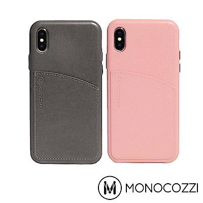 MONOCOZZI Posh系列 iPhone X 皮革背蓋