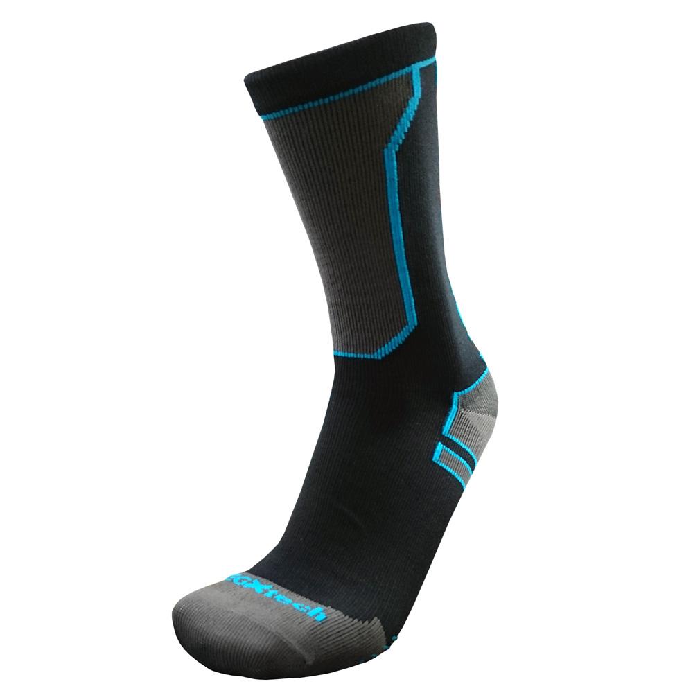 EGXtech WP 破浪者防水機能襪(黑灰)L/M(一雙入)