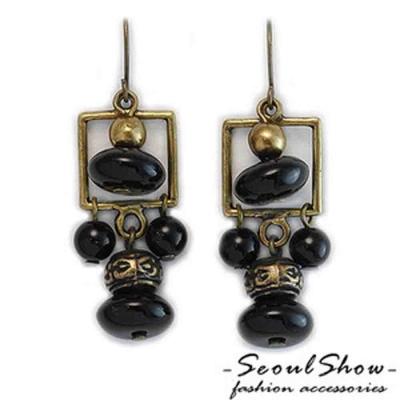 【Seoul Show】韓國直送 迦納娃娃 耳環(共四色)