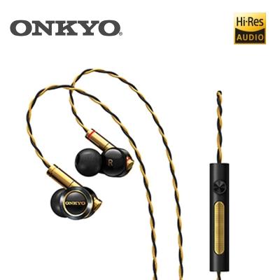 ONKYO E900M 混合結構入耳式耳機(黑金)