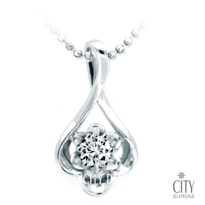 City Diamond Bijou系列0.11克拉H&A鑽墜-BD1464