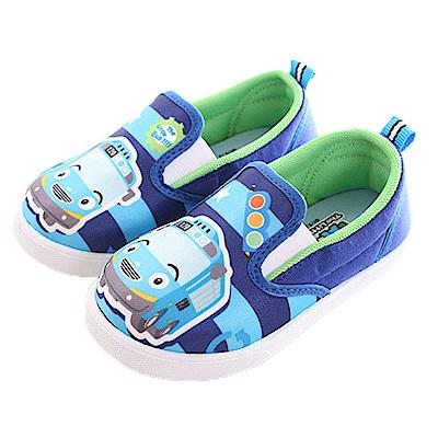 TAYO小巴士休閒帆布鞋 藍 sk0220魔法Baby