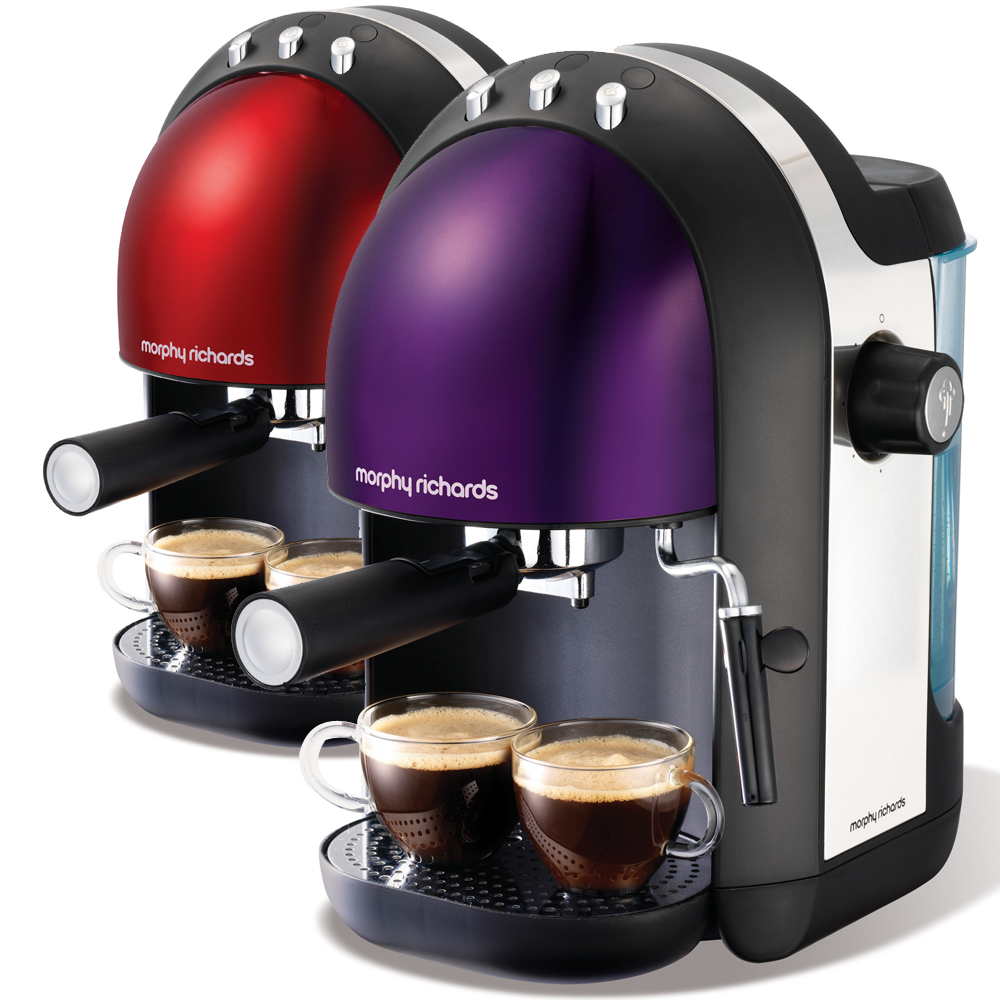 英國Morphy Richards Meno Espresso義式濃縮咖啡機