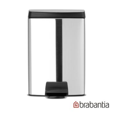 Brabantia 長方型腳踏式靜音垃圾桶10L