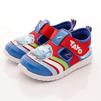 TAYO小巴士童鞋 輕量多彩透氣款 TH32229 紅 (中童段)T1