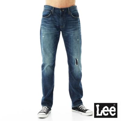 Lee 牛仔褲 726中腰標準小直筒牛仔褲/VL-男款-藍