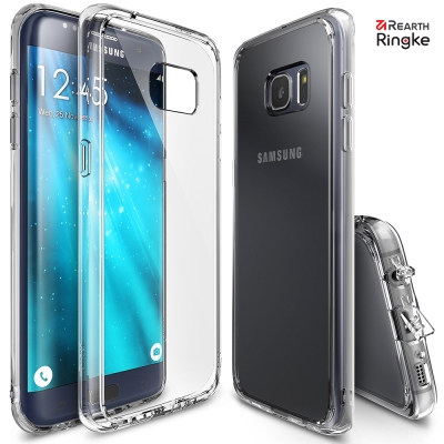 RINGKE 三星 Galaxy S7 Edge Fusion 透明背蓋手機殼